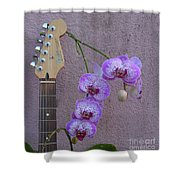 Fender Still Life Shower Curtain