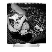 Fender Stratocaster 3 Shower Curtain