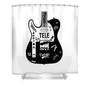 Fender Telecaster 52 Shower Curtain