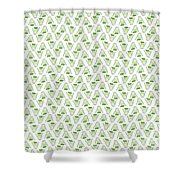 Fennel Foeniculum Vulgare Pattern. Shower Curtain