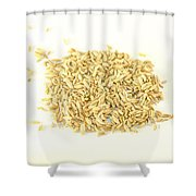 Fennel Seed Shower Curtain
