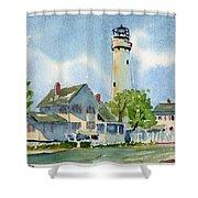 Fenwick Island Lighthouse Shower Curtain