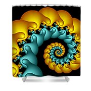 Feracteral Shower Curtain