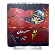 Ferdinand Alonso Shower Curtain