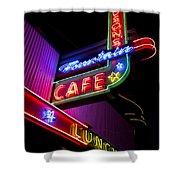 Ferguson's Diner Shower Curtain