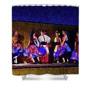 Feria Dance Shower Curtain