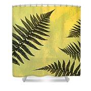 Fern Leaves 2 Shower Curtain