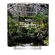 Fern Room Symmetry  Shower Curtain