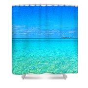 Fernandez Bay Calm Shower Curtain