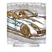 Ferrari 1 Shower Curtain