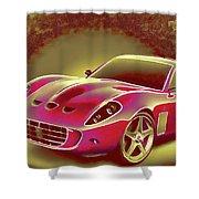 Ferrari 13 Shower Curtain