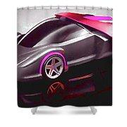 Ferrari 14 Shower Curtain