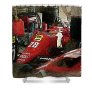 Ferrari 156/85 Shower Curtain