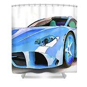 Ferrari 2 Shower Curtain
