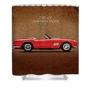 Ferrari 250 Gt 1960 Shower Curtain