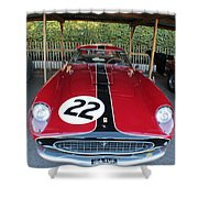 Ferrari 250 Gt Tour De France Shower Curtain