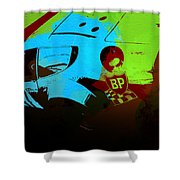 Ferrari 250 Gtb 2 Shower Curtain by Naxart Studio