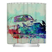 Ferrari 250 Gtb Racing Shower Curtain