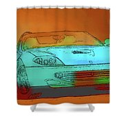 Ferrari 3 Shower Curtain