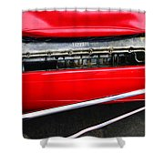 Ferrari 312 F-1 Engine Shower Curtain