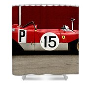 Ferrari 312 Profile 1971 Shower Curtain