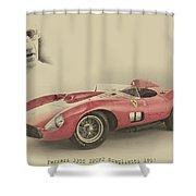 Ferrari 335 S Shower Curtain