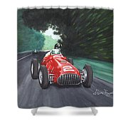Ferrari 375 F1 Shower Curtain