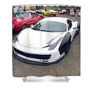 Ferrari 458 Wide Body Shower Curtain