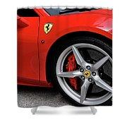 Ferrari 488gtb Shower Curtain
