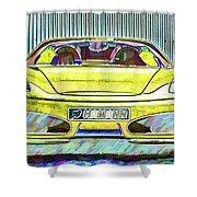 Ferrari 5 Shower Curtain