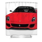Ferrari 599xx Shower Curtain