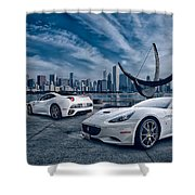 Ferrari California Shower Curtain