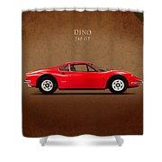 Ferrari Dino 246 Gt Shower Curtain