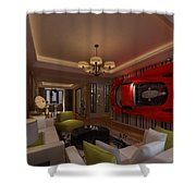 Ferrari Enzo Art Wall Shower Curtain