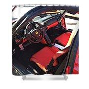 Ferrari Enzo Interior Shower Curtain