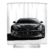 Ferrari F12 Berlinetta Shower Curtain