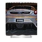 Ferrari F430 No 1 Shower Curtain