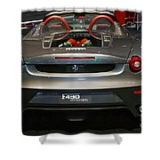 Ferrari F430 Spyder Convertible Shower Curtain