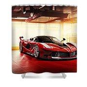 Ferrari Fxx K  1 Shower Curtain