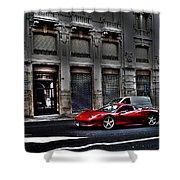 Ferrari In Rome Shower Curtain