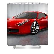Ferrari Italia  Shower Curtain