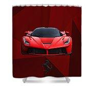 Ferrari Laferrari Shower Curtain
