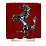 Ferrari Stallion Shower Curtain