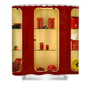 Ferrari  Stuff Shower Curtain