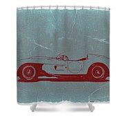 Ferrari Testa Rosa Shower Curtain