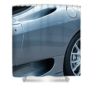 Ferrari Wheel Shower Curtain