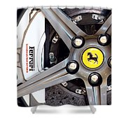 Ferrari Wheel Op 121915 Shower Curtain