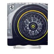 Ferrari Wheel Shower Curtain