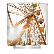 Ferris Of Them All Shower Curtain