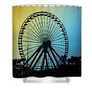 Ferris Wheel - Wildwood New Jersey Shower Curtain